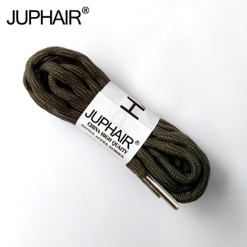 1Pair Hiking Walking Two Toneds Rope Lace Replacement Shoe Laces Round Shoelaces For Basketball Boost High-grade Metal Head