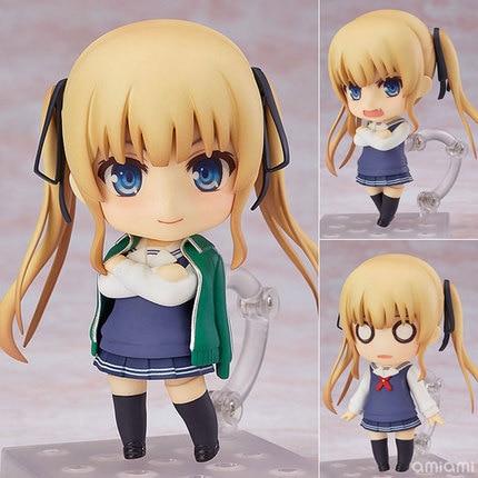 new 10cm Anime Saenai Heroine No Sodatekata Eriri Stand Ver Q Version Figure