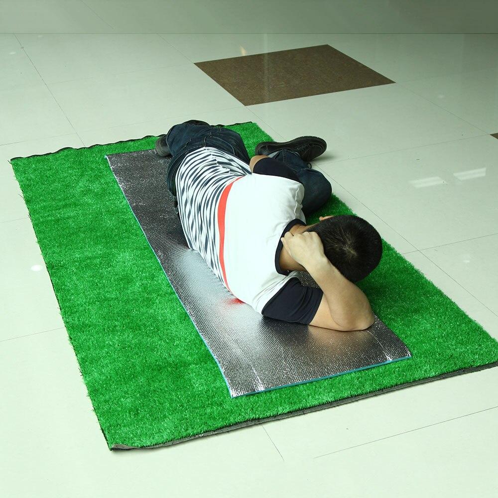 180*50/60*1 см пенопласт EVA односторонний алюминиевый фольга влагостойкий коврик для йоги открытый пляж Кемпинг Туризм пикника спальный коврик подушка