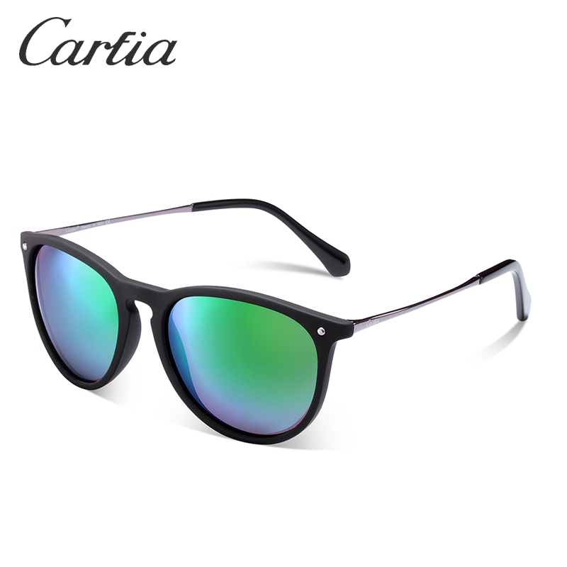 78746494b9e Carfia Women Vintage Retro Sunglasses Fashion Style Men Polarized Sun  Glasse Oval Frame Luxury Brand Designer 100% UV400 5100-in Sunglasses from  Women s ...