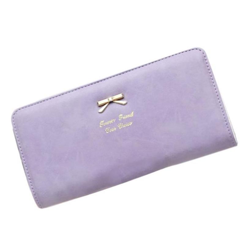 2017 New Fashion Women Wallets Female Clutch Long Bow Purse Leather Zipper Credit Card Holder Mobile Phone Bag Purses талалаева е ред что такое искусство