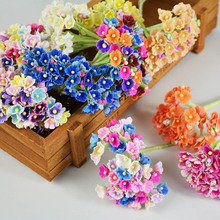 Buy tiny paper flowers and get free shipping on aliexpress mixed 5colors tiny paper flowers bouquets mini paper flowers mulberry paper flowers for scrapbooking decor 40pcs mightylinksfo