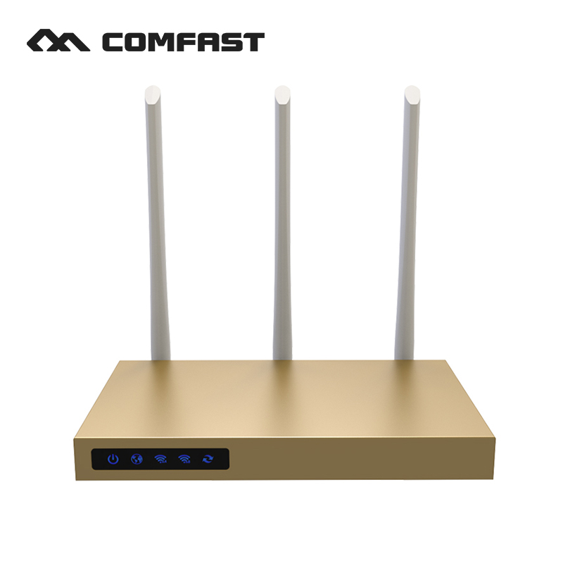COMFAST 750mbps dual band router high power 2.4ghz + 5.8ghz wifi access point 500 square meters coverage wireless router цена и фото