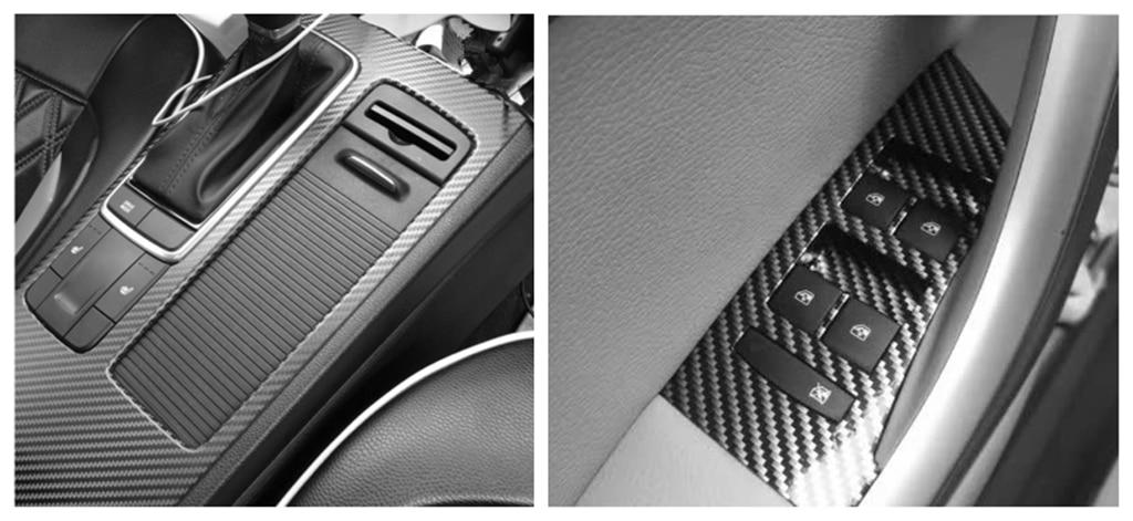 Auto adesivi in fibra di carbonio 3D stereo del motociclo di colore pellicola graffiti per Honda Pilot Insight HR-V CR-V Odyssey Jazz Fit