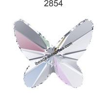 (1 piece) 100% Original Crystals from Swarovski 2854 Butterfly flat back no  hotfix rhinestone for nail art and jewelry making 7c03b9006984