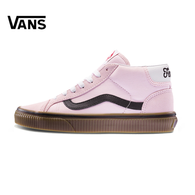 Original New Arrival Vans Women s Classic SK8-HI Skateboarding Shoes  Outdoor Sneakers Canvas Good Quality VN0A3TKFU9F f5e741b6e5