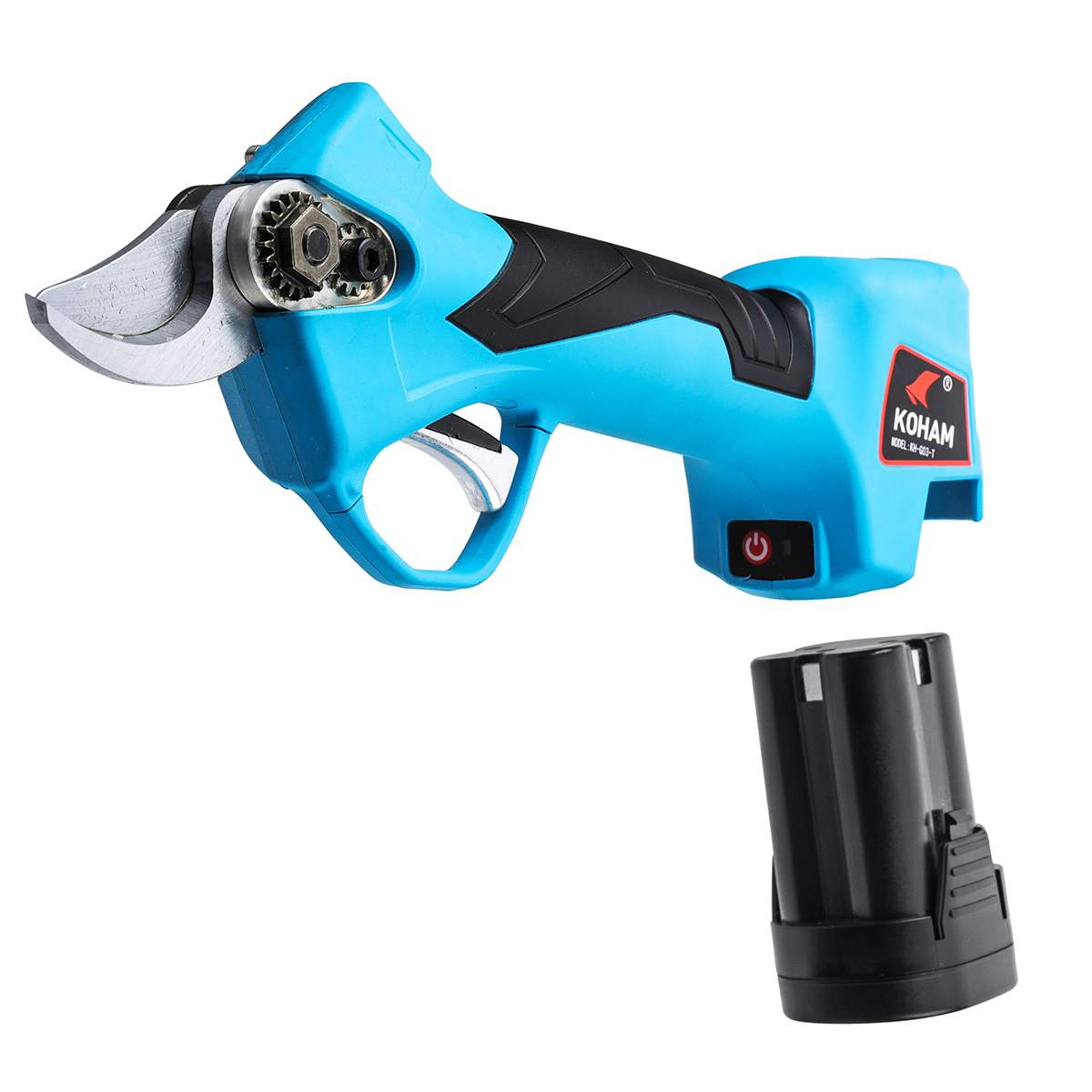 Rechargeable 16.8V Li ion Battery Electric Cordless Secateur Branch Cutter Pruning Shears for Sharp Cutting Tool to Fruit Garden