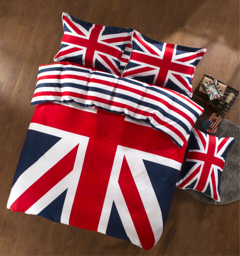 Baratos Textil para el hogar bandera americana ropa de cama 100