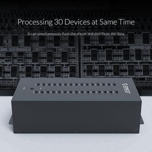 Image 5 - ORICO промышленный концентратор USB 2,0, 30 портов, устройство для чтения карт SD TF U disk, Пакетная копия данных черный