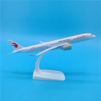 20cm China Eastern Air passenger A350 900 aircraft model ornaments Eastern Airlines A350 Airplane Model souvenirs collection toy