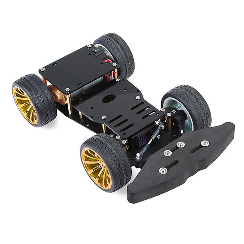 4WD RC Smart S3003 Metal Servo Bearing Car Chassis with Differential