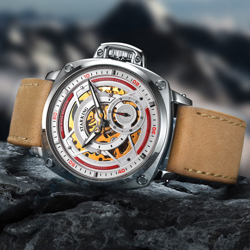 Arrival Amazing Watches Man Fully-Automatic Mechanical Sapphire Watch Male Outdoor Wristwatches Relo