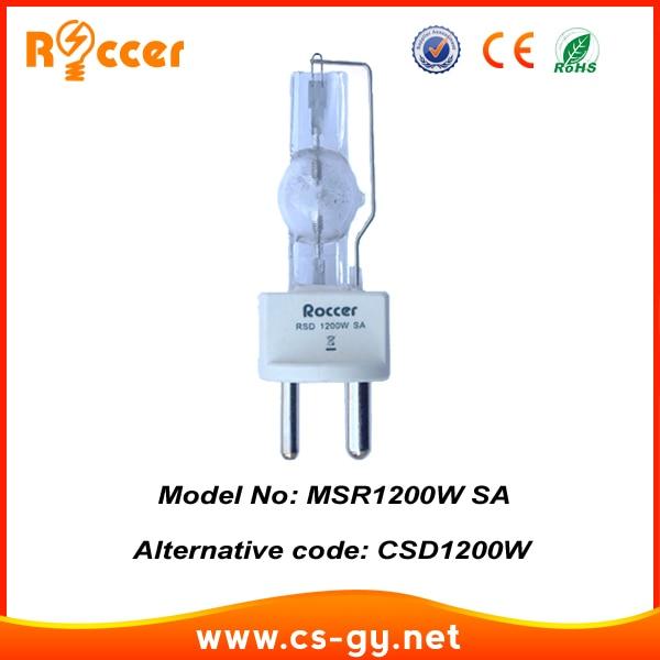 Roccer HTI1200W/SE XS MSR1200 SA Metal Halide Lamp Stage Light GY22