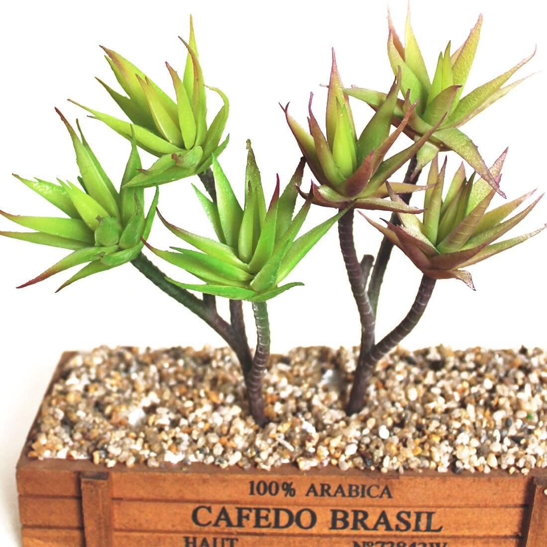 Plants Artificial Plant Landscape Fake Flower Arrangement Garden Decor Artificial Succulents Plants Aloe Zebrina