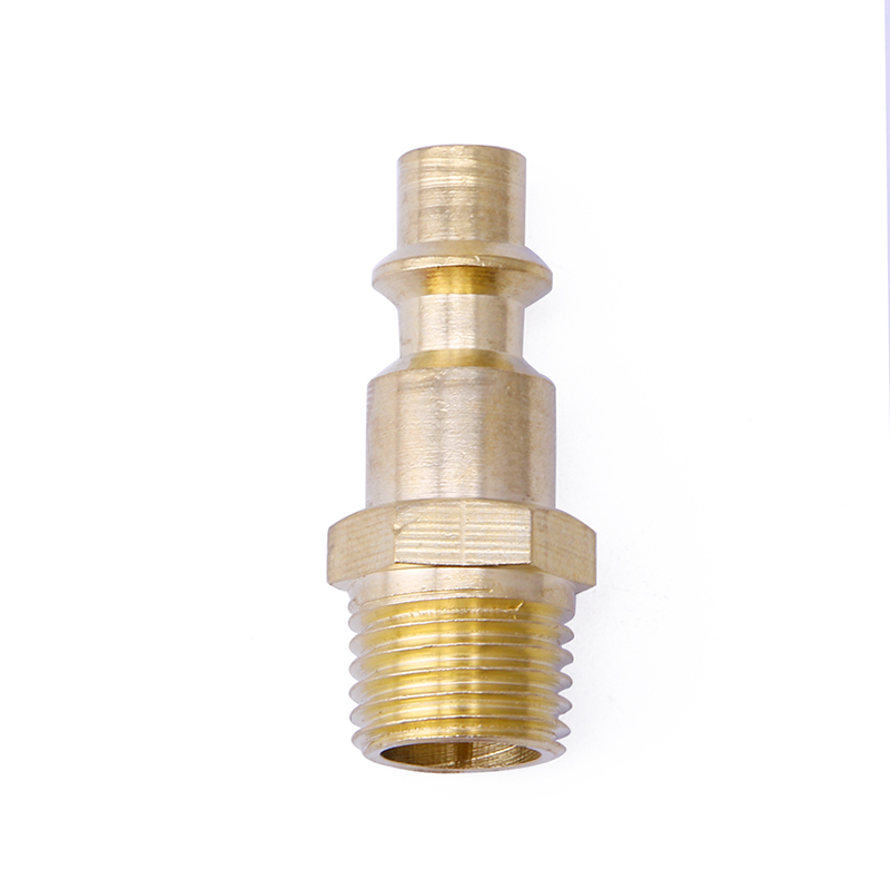 Quick Coupler Air Line Hose Male Connector Airline Fittings 1/4 NPT Tool 12mm hose air compressor quick coupler connector steel self lock sh 40 ph 40