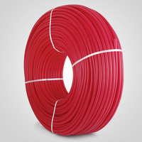 FREE SHIPPING VEVOR NEW 1/2in x 1000ft feet Pex Tubing Oxygen Barrier O2 EVOH Pex B Red Radiant Floor Heat