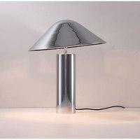 Современные E27 Настольные лампы Bedlamp гостиной спальня исследование настольная гриб настольные лампы черный цвета розового золота Серебрян