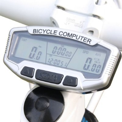 SunDing 558A  New LCD Bicycle Bike Computer Odometer Speedometer Functions Light