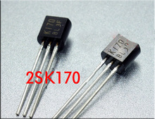 K170 170 New and Original 2SK170-BL 2SK170BL 2SK170  Transistor TO-92 Triode Transistor Low Power Transisto HIfi audio amplifier