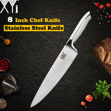 XYj Kitchen Stainless Steel Knife 3.5 5 7 8 inch 7cr17 Stainless Steel Blade Plastic Handle Meat Fish Fruit Cooking Accessories(China)