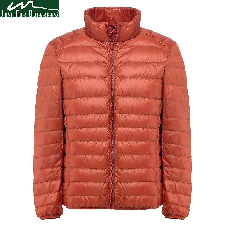 United 90% White Duck Down Jacket 2018 New Ultralight Men Winter Duck Down Coat Outwear Down Parkas Waterproof Overcoat Puls Size S-5xl Aromatic Flavor Down Jackets