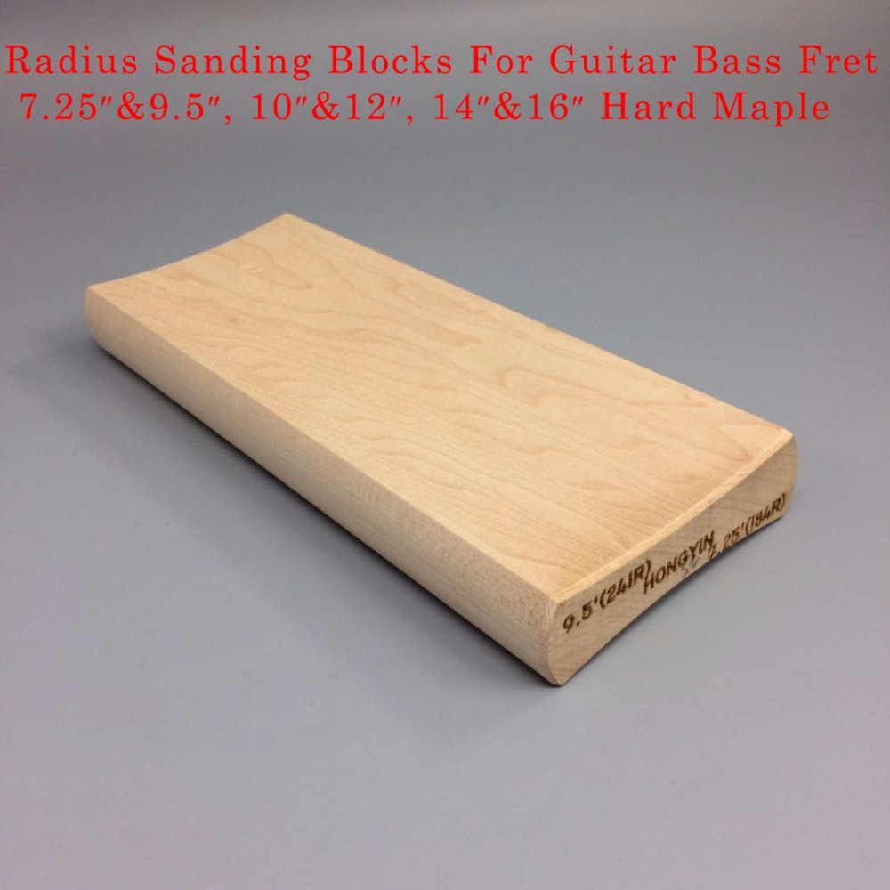 Radius Sanding Block Fret Leveling Fingerboard Luthier Tool For Guitar Bass Sports & Entertainment