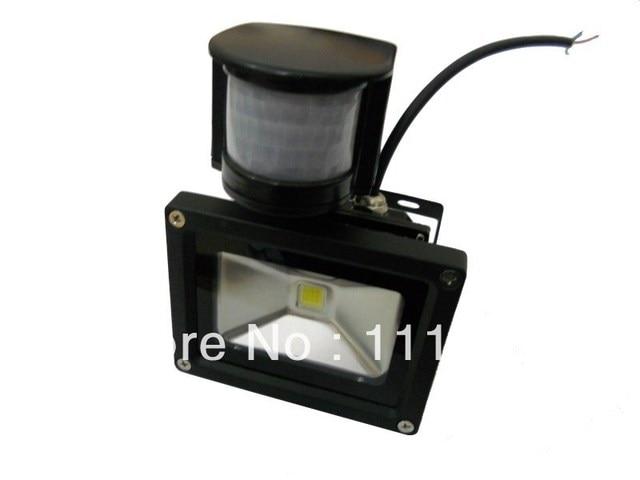 10W PIR Motion Sensor LED Flood light;AC85V-265V input