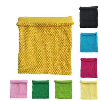 9x10 Inches Lined Crochet Tube Top Tutu Top Baby Girls Crochet Pettiskirt Tutu Tops Mixed Color 50pcs Per Lot - DISCOUNT ITEM  5% OFF All Category