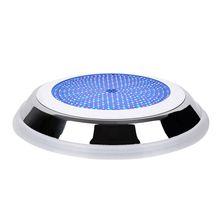 18 Вт из нержавеющей стали+ PC fil светодиодный Светодиодный фонарь для бассейна RGB многоцветный 12 В