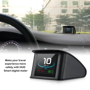 Image 2 - OBD2 HUD T600 Head up display car GPS Car Speed Projector Speedometer Fuel Consumption Temperature P10 Overspeed Warning System