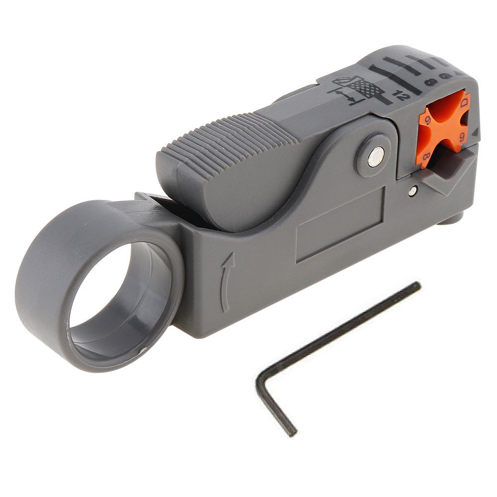 Multifunction Coaxial Cable Stripper Tool Wire Nippers Network Mini ...