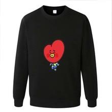 BTS BT21 Cartoon Print Sweatshirt [4 colors]