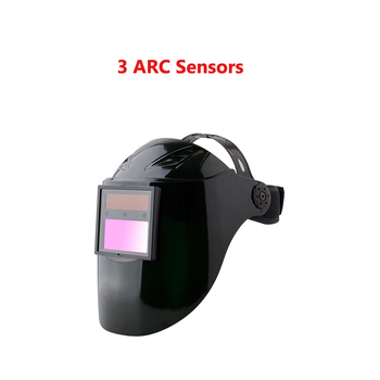 2017 новые солнечные Авто затемняющие Сварочные шлемы электрическая маска с капюшоном 3 дуговые датчики tig, mig, Hat лицевые щитки маски