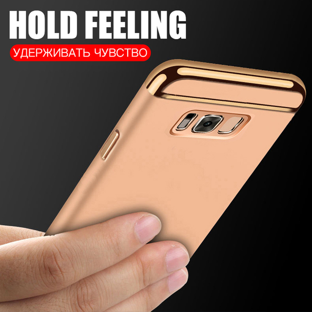 Luxury Electroplate Phone Case For Samsung Galaxy  J4 J6 Plus 2018 Full Cover For Samsung S20 S8 S9 Plus Note9 8 Protective Case