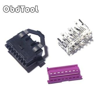 Universal OBDII OBD2 16Pin Female Male Connector for VAG Car Scanner OBD Plug Adapter OBD 2 Connector More Type Option LR10