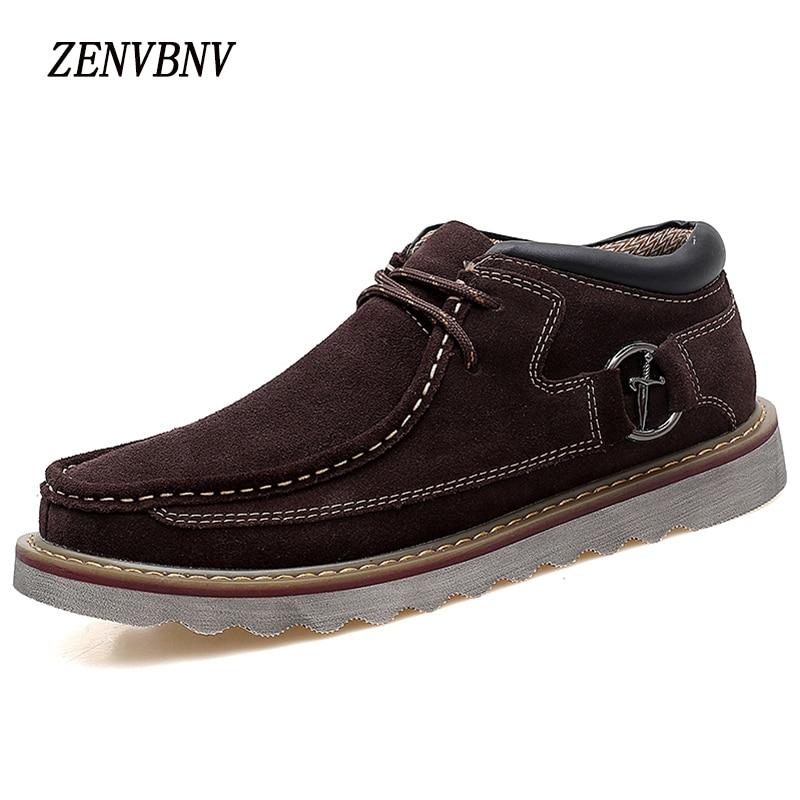 Zenvbnv Для мужчин повседневная обувь 2017, Новая мода удобные Для мужчин из флока Плюшевые Теплые Тапки однотонные зимние Повседневная мужская …