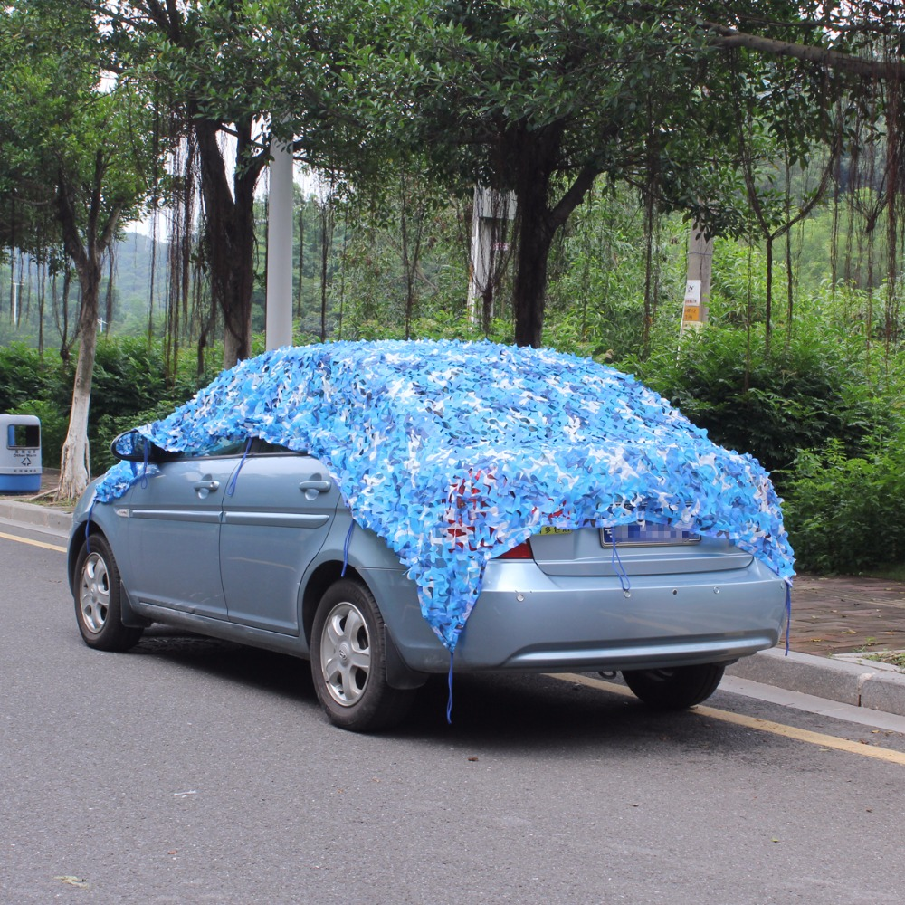 3*6M filet camouflage netting roof netting gazebo netting pergolas netting blue camo Netting for balcony tent outdoor car covers partol black car roof rack cross bars roof luggage carrier cargo boxes bike rack 45kg 100lbs for honda pilot 2013 2014 2015