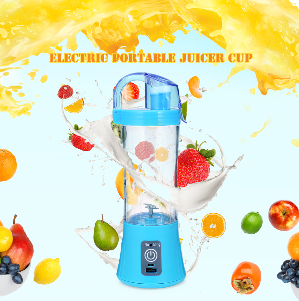 Portable Blender 380ml USB Rechargeable 6