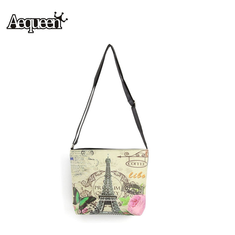 Messenger Bags Paris Eiffel Tower Printed Pu Leathe Shoulder the Europe United States to Ancient Ways Crossbody Shoulder Bags new lp2k series contactor lp2k06015 lp2k06015md lp2 k06015md 220v dc