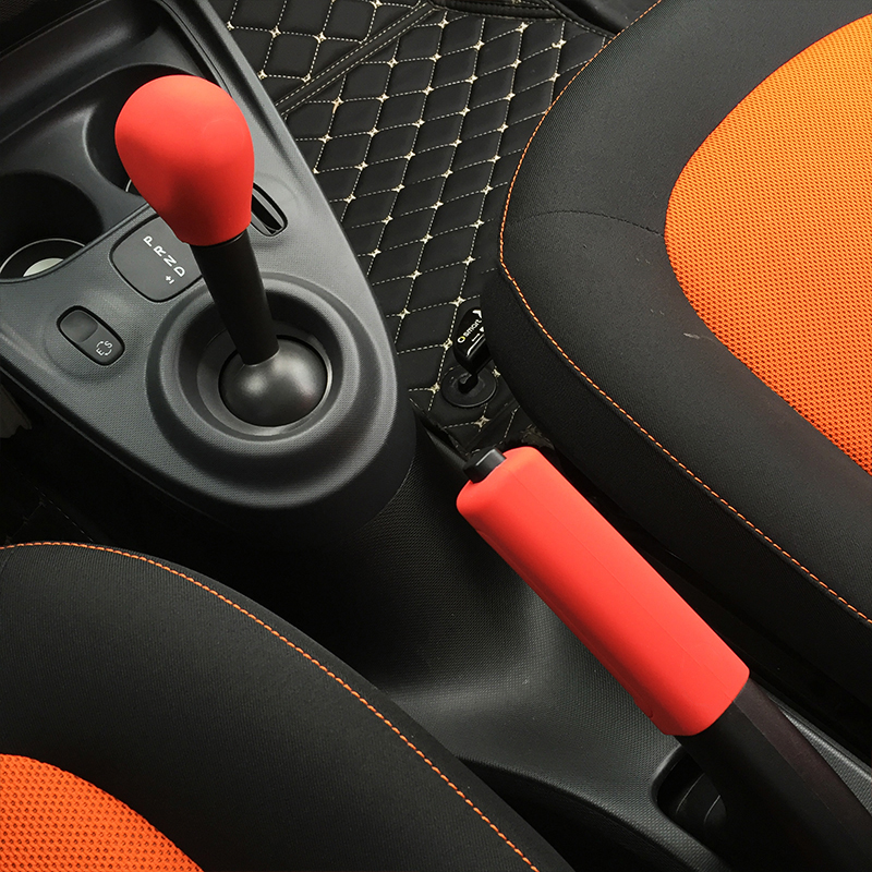 Gear Shift Collars Car Gear Shift Collar Knob Cover For Smart Fortwo Forfour Cabrio Roadster 450 451 452 Series Silicone Gear Head Case Sleeve In Short Supply