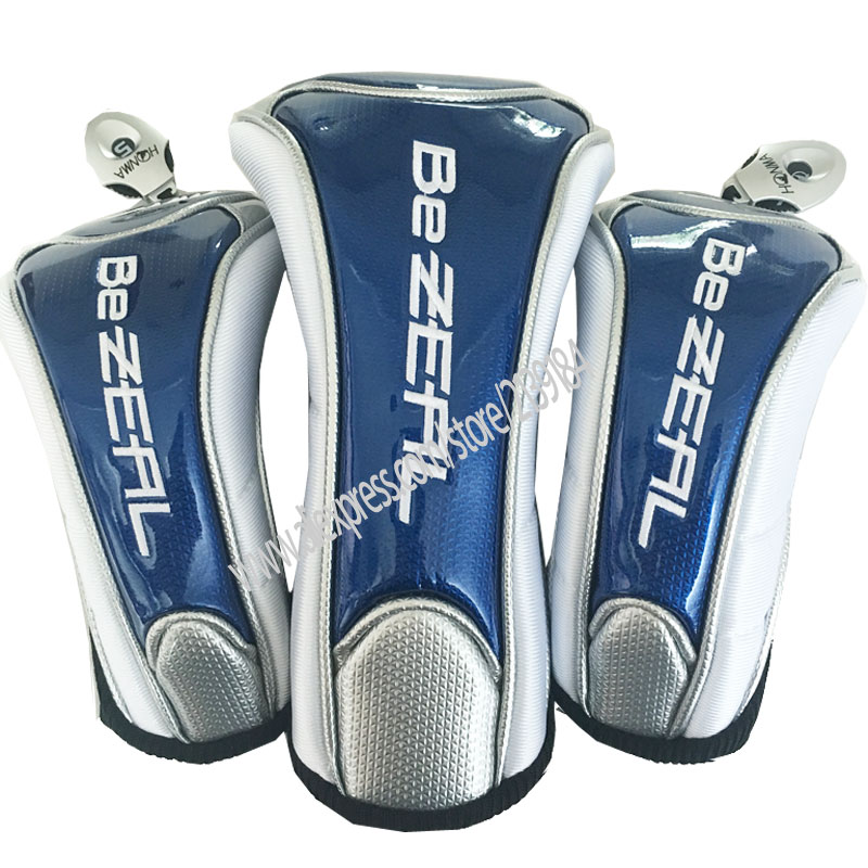 New Golf Headcover Unisex HONMA Golf Drivers Headcover #1 Drivers Cover 3 5 Wood Clubs Head Cover Free Shipping