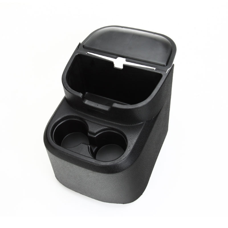ФОТО BLK Car Rear Water Cup Holder Storage Box Container Pocket Tray Organizer Fit For Wrangler 4 Door Car accessary