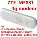 Desbloqueado zte mf831 3g 4g lte módem usb 4g 3g usb stick usb STICK 4G 3G Dongle pk mf823 e392 mf821 e8372 e8278 e3131 mf90 mf910