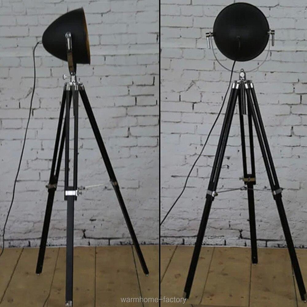 Aliexpress.com: koop vintage statief vloerlamp hout houder ...