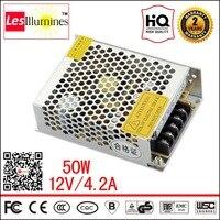 Single 120V 220V To 12V Volt Transformer CE ROHS Approval LED Driver Converter Suply AC DC