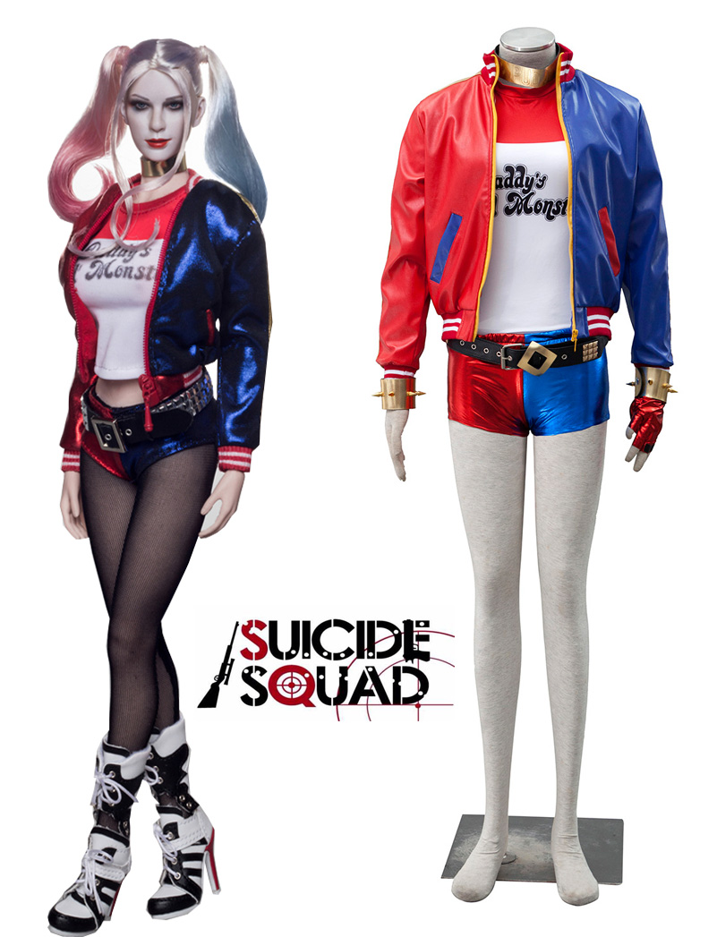 Popular Harley Quinn Suit-Buy Cheap Harley Quinn Suit lots from ...