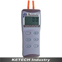 AZ 82100 Digital Manometer Differential Air Pressure Meter Tester 0 100psi