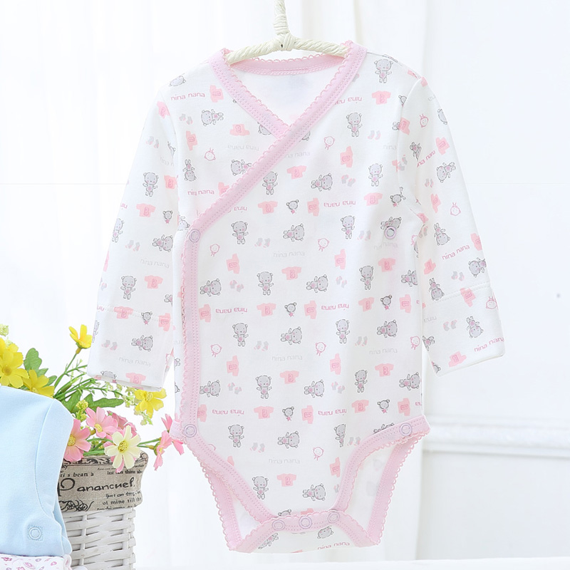 Baby bodysuit pyjamas kids long sleeves 100% cotton children clothing newborn baby boy clothes baby girl clothes