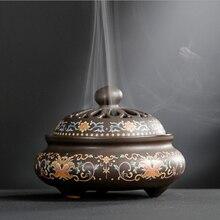 ERMAKOVA держатель для благовоний, курильница, фарфоровая палочка, катушка, конус, держатель для благовоний, для комнаты, дома, офиса, рабочего стола, украшение, подарок
