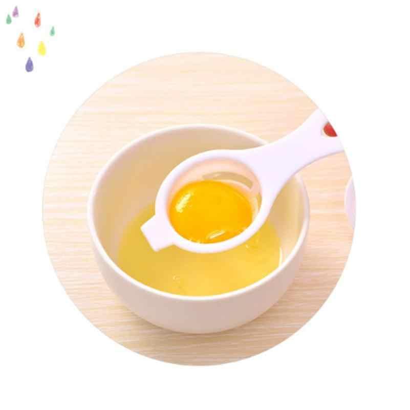 Separador de Gema de ovo Separador de Cozinha Gadget De Cozinha Ovo Branco Separador Sieve Ferramenta de Plástico Doméstico T724